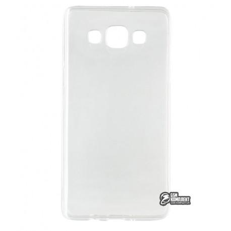 Чехол защитный для Samsung A500 Galaxy A5, силиконовый, прозрачный