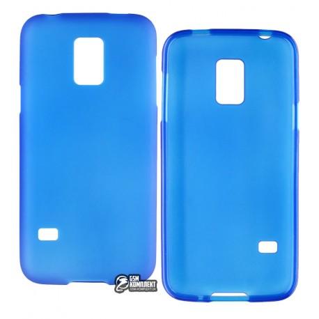 Чехол защитный для Samsung G800H Galaxy S5 Mini Duos, силиконовый