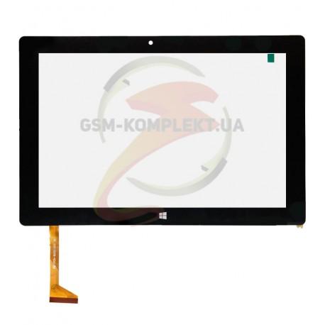 """Tачскрин (сенсорный экран, сенсор) для китайского планшета 10.1"""", 52 pin, с маркировкой FPCA-10A02-V03, размер 254*169 мм, черны"""