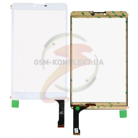 """Tачскрин (сенсорный экран, сенсор) для китайского планшета 8,1"""", 45 pin, с маркировкой PB80JG1730-R2HG, размер 206*119мм белый"""