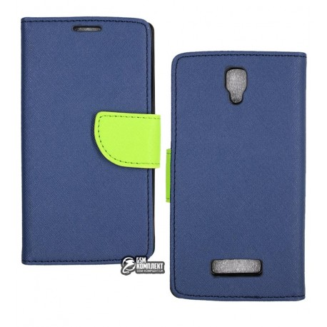 Чехол-книжка Mercury Lenovo A2010 Dark/Blue