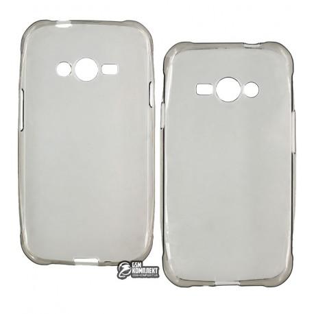 Чехол-накладка TOTO 0.2mm Samsung Galaxy J1 Ace J110H/DS прозрачный/Grey