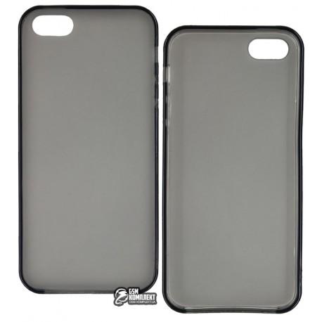 Чехол-накладка TOTO matte iPhone 5/5S/SE Dark/Grey