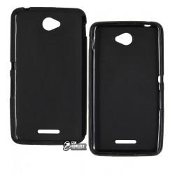 Чехол-накладка TOTO matte Sony Xperia E4 Dual E2115 черный
