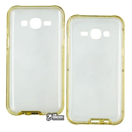 Чехол-накладка TOTO TPU Case+PC Bumper Samsung Galaxy J5 J500H Gold