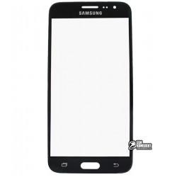 Стекло корпуса для Samsung J320H/DS Galaxy J3 (2016), черное