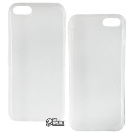 Чехол-накладка TOTO прозрачный iPhone 5/5s/SE Transparent