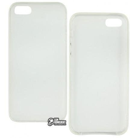 Чехол-накладка TOTO matte iPhone 5/5S/SE прозрачный