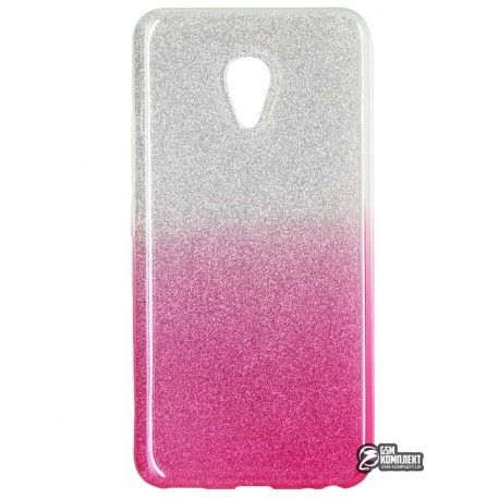 Чехол-накладка TOTO Rose series Gradient Meizu M5 Pink