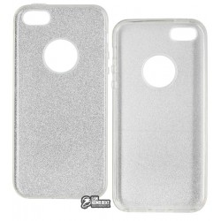 Чехол-накладка TOTO Rose series iPhone 5/5s/SE Silver