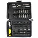 Набор отверток SIGMA 4002501, отвертка с реверсом, 90 бит, переходник, битодержатель, удлинитель 2 шт 50мм и 25 мм, бита тип Y