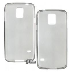 Чехол ультратонкий для Samsung I9600 Galaxy S5, силиконовый, прозрачный