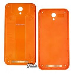 Задняя крышка батареи для Blackview BV5000, оранжевая