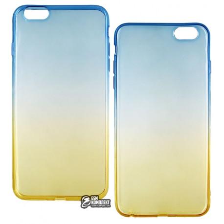 ЧехолзащитныйTPU2COLORдляiPhone6SPlus/6Plus