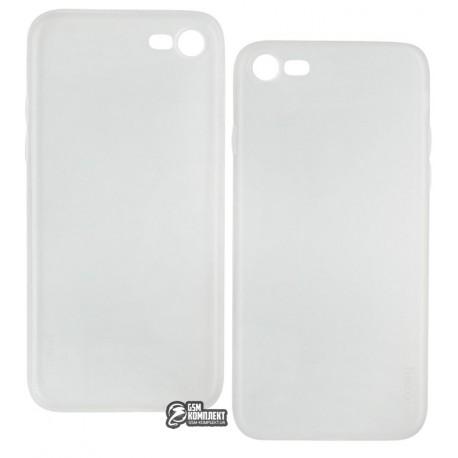 Чехол защитный HOCO Thin Series Frosted PP cover для iPhone 7 силиконовый, прозрачный