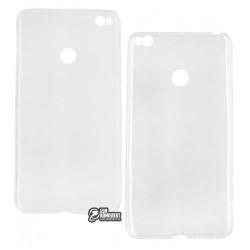 Чехол защитный для Xiaomi Mi Max 2 силиконовый, прозрачный