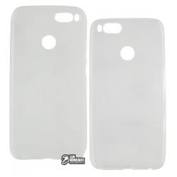 Чехол защитный для Xiaomi Mi5X/MiA1 силиконовый, прозрачный