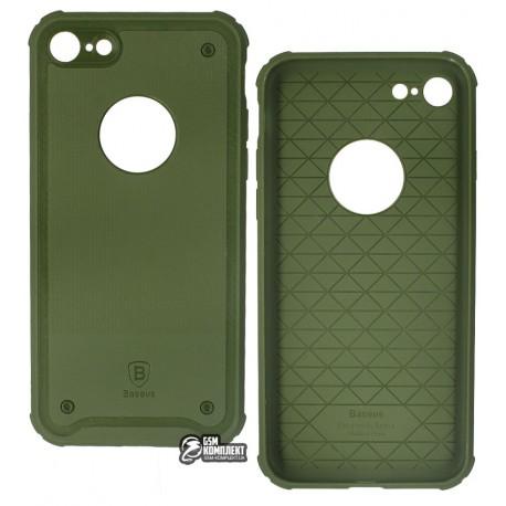 Чехол-накладка Baseus Shield Case для iPhone 7 зеленая