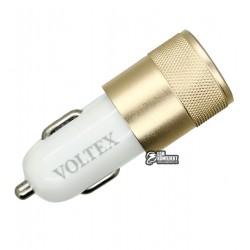 Автомобильное зарядное устройство Voltex VTC-202, 2USB, 2.1 A, 12V,