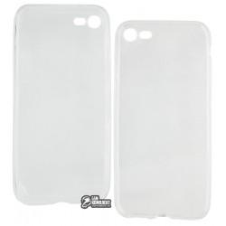 Чехол защитный для iPhone 7 силиконовый, прозрачный
