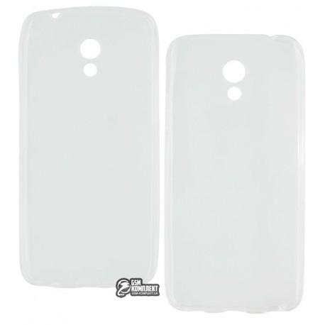 Чехол защитный для Meizu M5C силиконовый, прозрачный