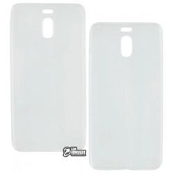 Чехол защитный для Meizu M6 Note силиконовый, прозрачный