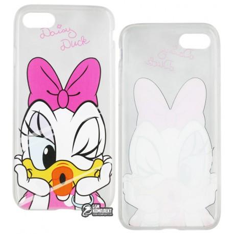 Чехол защитный Disney для iPhone 7 Daisy Duck, силиконовый