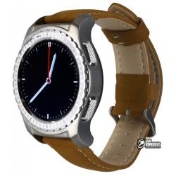 Смарт часы Smart Watch KW28, с пульсомером, коричневые