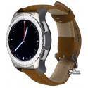 Смарт годинник Smart Watch KW28, з Пульсомір, коричневі