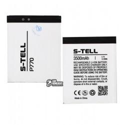 Аккумулятор (акб) для S-Tell P770, (Li-ion 3.7V 3500mAh)