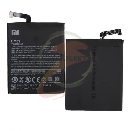 Аккумулятор BM39 для Xiaomi Mi6, Li-Polymer, 3,85 B, 3350 мАч