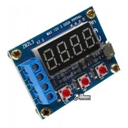 Тестер аккумуляторов ZB2L3 15V 3A