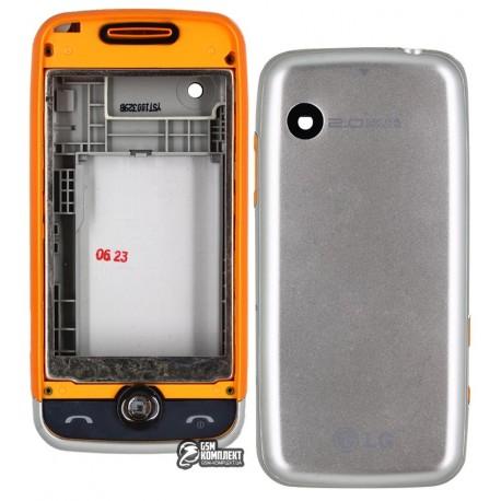 Корпус для LG GS290, оранжевый