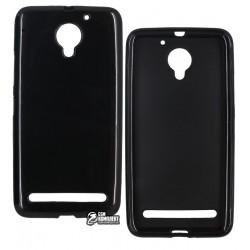 Чехол защитный для Lenovo Vibe C2 (K10a40), силиконовый, черный