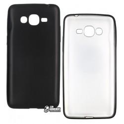 Чехол защитный для Samsung G532F Galaxy J2 Prime, силиконовый, матовый, черный