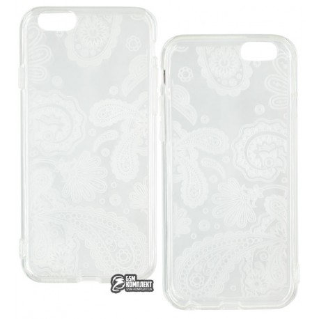 Чехол Melkco Nation Amoeba TPU для iPhone 6/6S прозрачный
