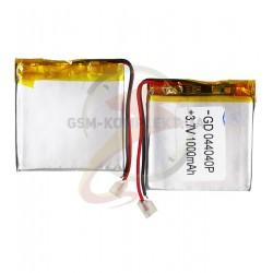 Аккумулятор,45мм,45мм,4мм,Li-ion,3,7В,1000мАч