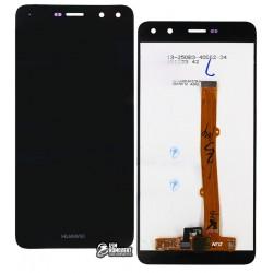 Дисплей для Huawei Y5 (2017), Y5 III, черный, с сенсорным экраном, original (PRC)