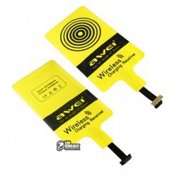 Приемник для беспроводной зарядки Awei QI wireless Micro USB