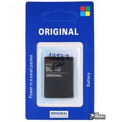 Аккумулятор BL-4B для Nokia 2630, 2660, 2760, 5000, 6111, 7070, 7370, 7373, 7500, N76, (Li-ion 3.7V 700mAh)