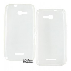 Чехол ультратонкий для Sony E2003 Xperia E4G, E2006, E2053, силиконовый, прозрачный