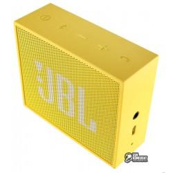 Портативная колонка JBL Go, Bluetooth, желтая