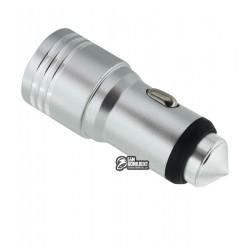 Автомобильное зарядное устройство Hammer, 1A, 2USB