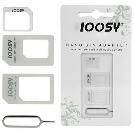 Адаптер SIM-карт Noosy 4 in 1 Sim Adapter