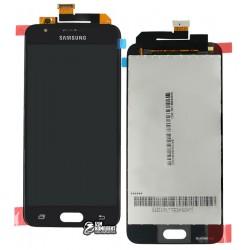 Дисплей для Samsung G570 Galaxy On5 (2016), G570F/DS Galaxy J5 Prime, черный, с сенсорным экраном