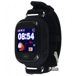 Детские часы Q90, с 1.22' OLED дисплеем и GPS трекером