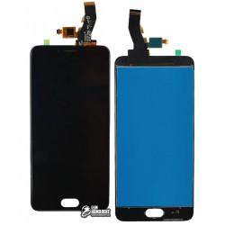 Дисплей для Meizu M5s, черный, с сенсорным экраном, original (PRC)