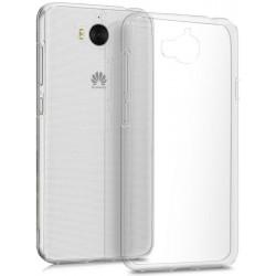 Чехол защитный для Huawei Y5 2017, силиконовый, прозрачный