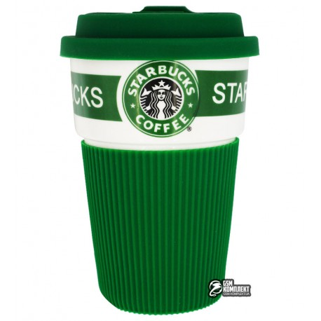Термостакан Starbucks с крышкой, зеленый