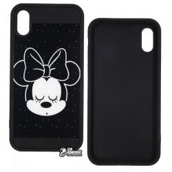 Чехол защитный TOTO для IPhone X, Mini Mouse, силиконовый